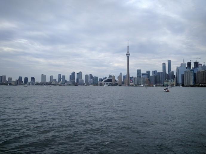 Toronto Island Viewpoint