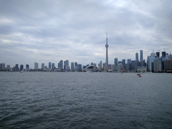 Toronto Island Viewpoint