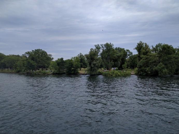 River on Toronto Island